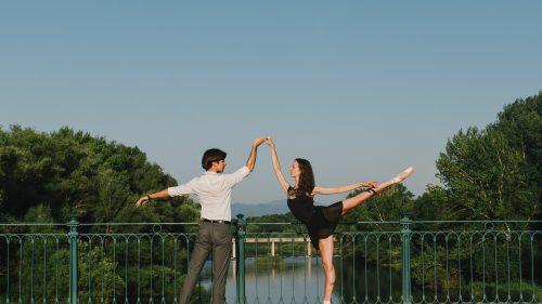 Tess Buck i Volodymyr Fortunenko impulsen el Ballet Jove de Girona