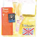 Concurs de dibuixos del 'Dancing Times', guanyadora Clara Llunell.